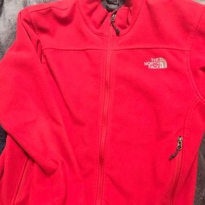 Men's red North Face jacket